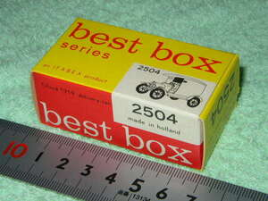 best box 2504 T-Ford 1919 delivery-van made in holland an IFABEX product
