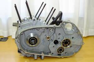 ◆ BUELL ビューエル XB12S クランクケース 中古品 エンジン型式WX03(検)XB9S XB12R XB9R