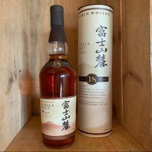 ウイスキー 富士山麓18年 専用缶ボックス入 700ml 43°