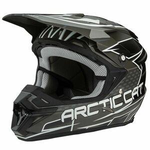 即納 Arctic Cat MX Team Arctic ZR ヘルメット ブラック 2XL