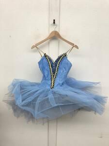 バレエ 衣装 *ドレス ワンピース ビーズ スパンコール *子供用かと思います *ブルー *ダンス 教室 舞台 発表会 *詳細は不明