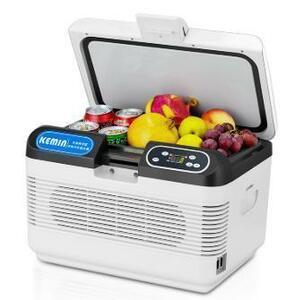 【送料無料】ミニ冷蔵庫 冷凍庫 車用 12L 冷蔵 冷凍 車載冷蔵庫 12V ポータブル冷蔵庫 LEDディスプレイ アイスボックス クーラーボックス