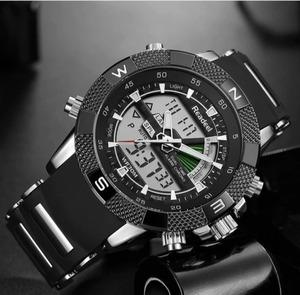 【送料無料】Readeelファッションブランドカジュアル腕時計男性ミリタリースポーツ腕時計メンズ防水ショックledデジタルクォーツ腕時計男性