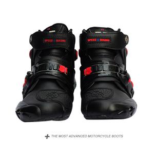PRO BIKE バイク用ブーツ サイズ25 ブラック レーシング オートバイ メンズ ツーリング ライディング プロテクトスポーツ 防寒 バイク用品