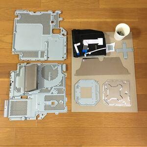PS4 pro 型番CUH-7000Bヒートシンク、レンズユニット、その他パーツ類