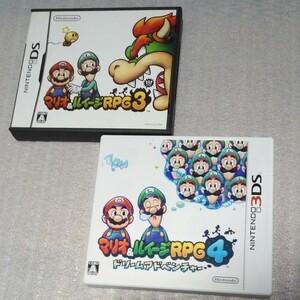 3DSソフト マリオ&ルイージRPG4 DSソフト マリオ&ルイージRPG3