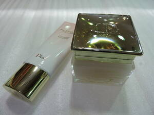 189988 C.Dior(ディオール) メイク落とし+洗顔料 多少使用