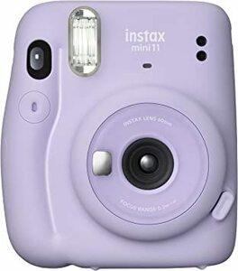 ライラックパープル 本体 FUJIFILM インスタントカメラ チェキ instax mini 11 ライラックパープル INS