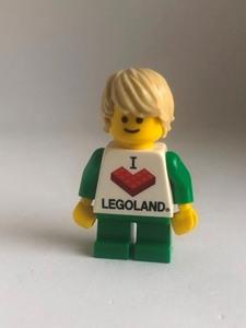 即決 未使用 レゴ LEGO レゴランド Tシャツの男の子 ミニフィギュア ミニフィグ シティ タウン スマイル