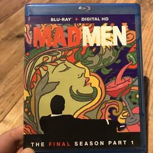 送料無料 MAD MEN Final Season マッドメン ファイナルシーズン パート1&2 セットBlue Ray ブルーレイ 2枚組 x 2 海外版
