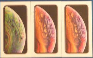 【化粧箱のみ】Apple iphoneXS 3個セット