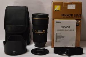 【新品級の特上品】 Nikon 標準ズームレンズAF-S NIKKOR 24-70mm f/2.8E ED VR フルサイズ対応 #1615