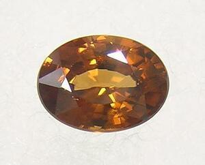 送料無料 『天然ジルコン』 1.90ct ルース 宝石 裸石 タンザニア産 オーバルカット