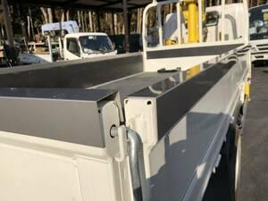 注文制作ステンレス製アオリカバー(1m・6500円 税込) トラック荷台のアオリ上部を保護するためのものです。大阪府交野市