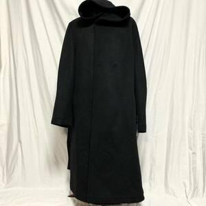 定価174960円 REGULATION Yohji Yamamoto MEN レギュレーションヨウジヤマモトメン 17AW カシミヤ混 ビーバー フーデッドコート HK-C02-142