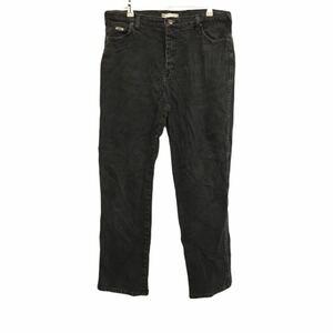 リー Lee デニムパンツ ジーンズ ブラックデニム カラーパンツ 黒 コスタリカ製 リラックス ストレート YP21