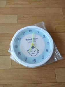 未使用 壁掛け時計  すもう