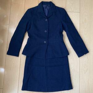 スーツ ネイビー ツイードジャケット ツイードスーツ 入学式 シップス スーツ