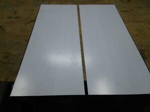 ステンレス切り板 約1000×355 2枚