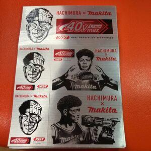【非売品★激レア】八村塁 × マキタ コラボステッカー★ Rui Hachimura & Makita collaboration sticker (not sold in stores)