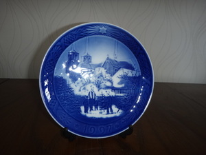 ロイヤルコペンハーゲン   『イヤープレート  1997年』  飾り皿  未使用保管品  格安送料 コレクション 箱なし