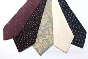 美品良品のみ レノマ renoma 人気ブランド ネクタイ 大量5点セット まとめて まとめ売り