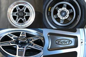 ☆SSR ディバイド MK-6 ヨコハマタイヤ パラダPA03 215/60R17C 109/107S ホワイトレター 新品タイヤセット ハイエース200系用☆