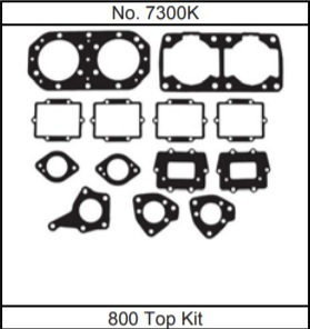 Gasket-Technolgy《7300K》Kawasaki JS800SX-R トップガスケットセット800SX-R 800X-2 カワサキ