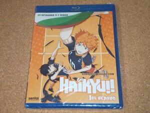 新品BD★ハイキュー!! 第1期 全25話 ブルーレイ 北米版[PS3,4再生可]
