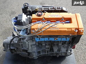 with guarantee EG6 Civic .. use B16B modified 1842cc tuning engine SPOON full Cross mission ATS carbon LSD clutch shelves 1B11