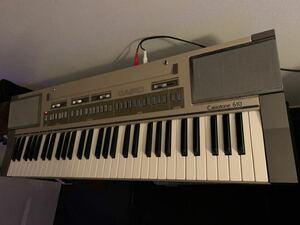 CASIO カシオ 電子ピアノ キーボード CASIOTONE 601 CT-610 GOLD ドラム音源内蔵 シンセサイザーRoland YAMAHA ローランド KORG 動作品