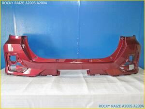 トヨタ A200A A210A A200S A210S ライズ ロッキー 純正 リアバンパー 52159-B1310 R67 ファイアークォーツレッドメタリック