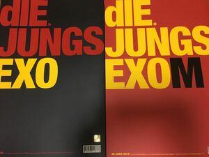 EXO dIE JUNGS 写真集 EXO EXO-M DVD おまけ付き グッズ エクソ