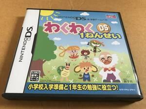 任天堂DSソフト わくわくDS1ねんせい