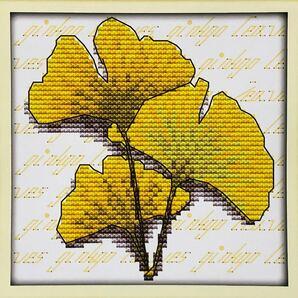 クロスステッチ刺繍キット(J195)14CT