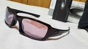 正規美 オークリーOAKLEY スポーティーサングラス グラマラスラメフレーム ピンク系 偏向ミラーレンズ 軽量スポーツモデル 付属有 男女兼用