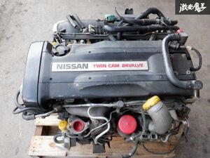 実動車外し 保証付 純正 BNR32 スカイライン GT-R 平成6年 最終型 RB26 エンジン 補器類 60.450km 05U クスコ LSD RS 1WAY BCNR33 BNR34