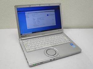 ☆Panasonic Let's note CF-NX3 Core i5 4310U 2GHz 4GB 320GB 12.1インチ WXGA++ 1600×900 Windows10 Pro 64bit 即決