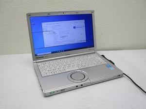 ☆Panasonic Let's note CF-SX3 Core i5 4310U 2GHz 4GB 320GB 12.1インチ WXGA++ 1600×900 Windows10 Pro 64bit 即決