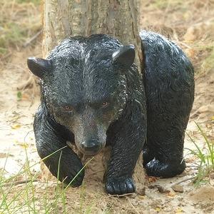 庭木につけたい●くま クマ ガーデン 装飾 庭飾り オブジェ 動物 ユニーク ギフト プレゼント ガーデニング 庭 サプライズ 木 樹木 熊 bb16