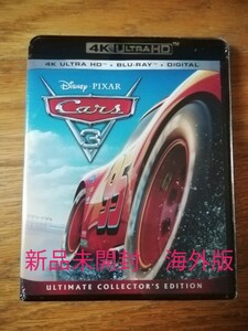 CARS 3/クロスロード 4K UHD + ブルーレイ 〈3枚組〉海外版