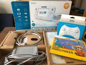 Wii U すぐに遊べるスポーツプレミアムセット スーパーマリオメーカーソフト プロコントローラー付
