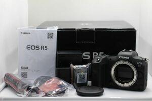 キャノン Canon EOS R5 ボディ ■元箱/バッテリー2個付き■Z102