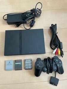 プレイステーション2 薄型SCPH-70000 ファイナルファンタジーセット