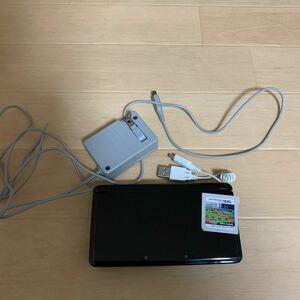 ニンテンドー3DS本体 ダビスタ 充電器2つ