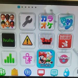 WiiU 本体のみ NewスーパーマリオブラザーズU・wiiパーティーU内臓 任天堂