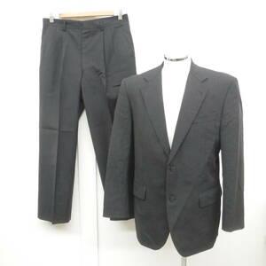 URBAN STYLE アーバンスタイル☆メンズ スーツ上下 94A6サイズ ジャケット パンツ セットアップ☆黒系 サイドベンツ ☆ビジネス イベント