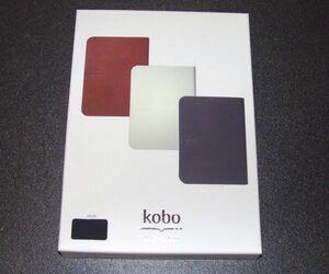 Rakuten Kobo Stylish Book Cover Black 808349BL51-233FIV