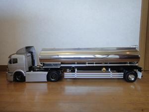 タンクトレーラー 1軸・サイド&リアバンパー オートサポートレッグ・ベアリング仕様 タミヤ 1/14 ( スカニア / MAN / キングハウラー )