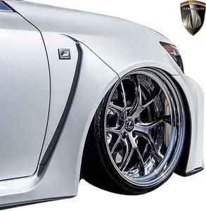 【M's】レクサス 前期 10系 GS350 GS250 (2012.1-2015.11) AIMGAIN 純VIP GT フロントワイドフェンダー LR // FRP エイムゲイン エアロ
